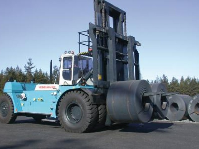 Steel, aluminium and mining lift truck